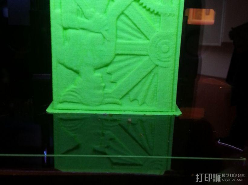 奥格登大街桥屋石 3D模型  图4