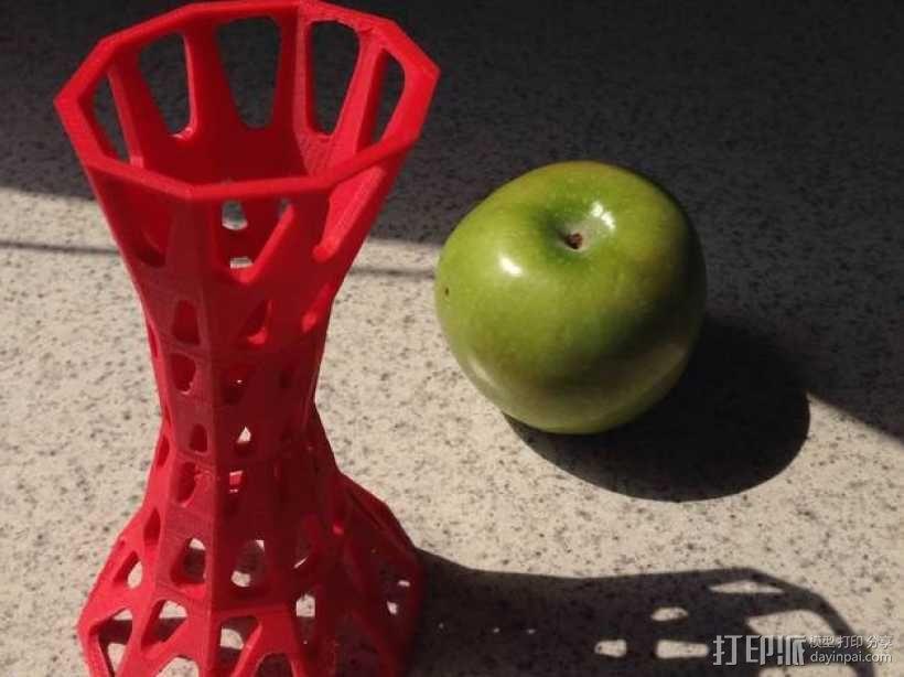 参数化雕塑塔 3D模型  图1