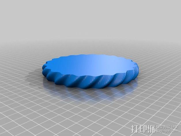 艺术花瓶 3D模型  图5