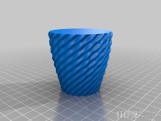 艺术花瓶 3D模型  图4