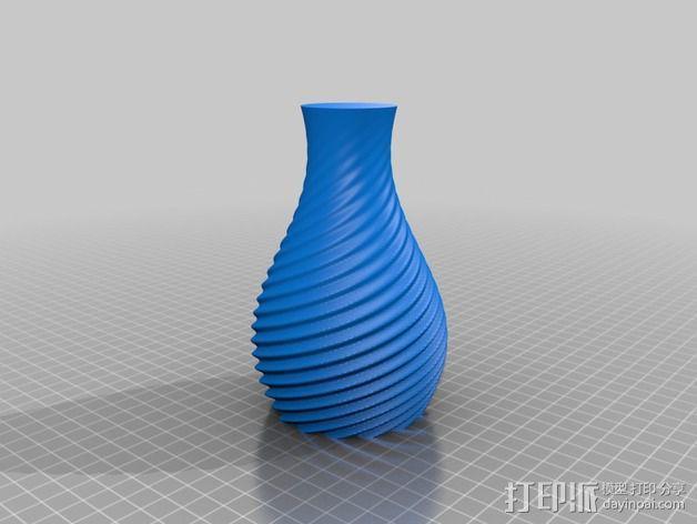 艺术花瓶 3D模型  图7