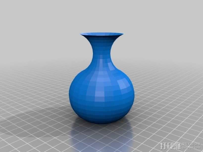 简易花瓶 3D模型  图1