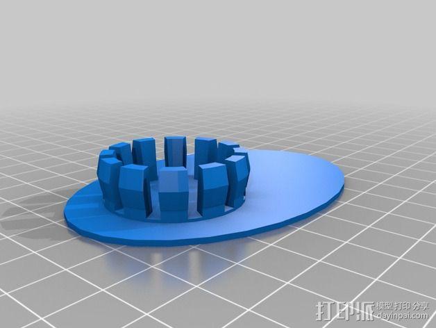 大象存钱罐 3D模型  图3