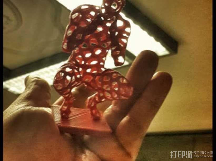 泰森多边形 人 模型 3D模型  图7