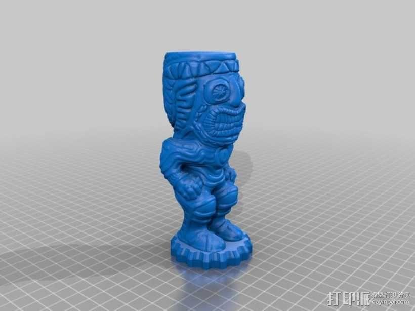 提基石像模型 3D模型  图11
