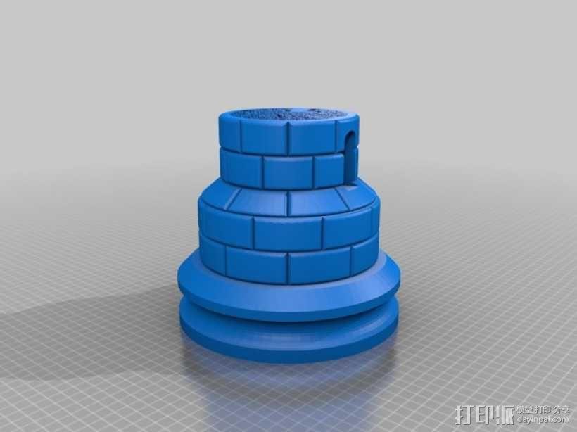 城堡模型 3D模型  图2