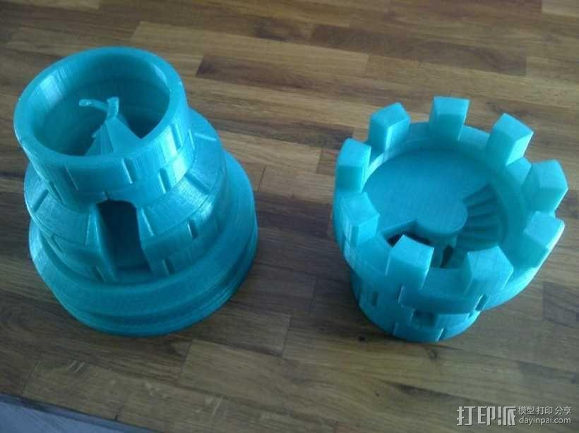 城堡模型 3D模型  图5