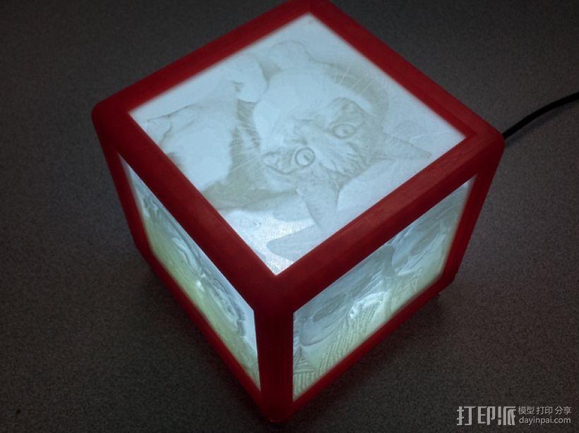 唯美夜灯 3D模型  图1