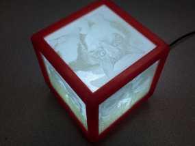 唯美夜灯 3D模型
