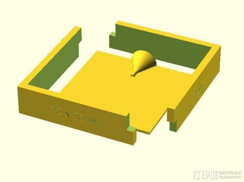 模腔 3D模型  图1