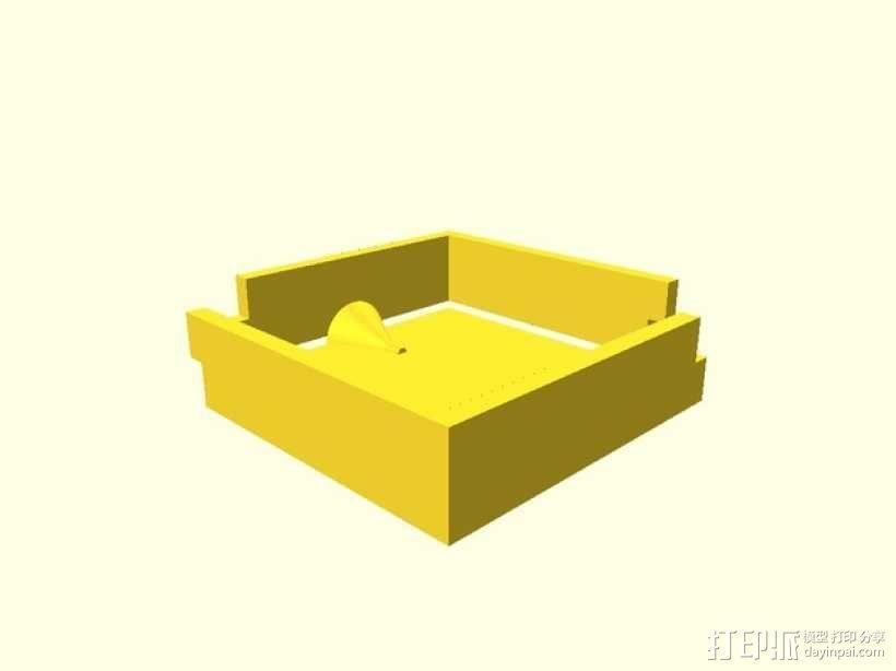 模腔 3D模型  图2