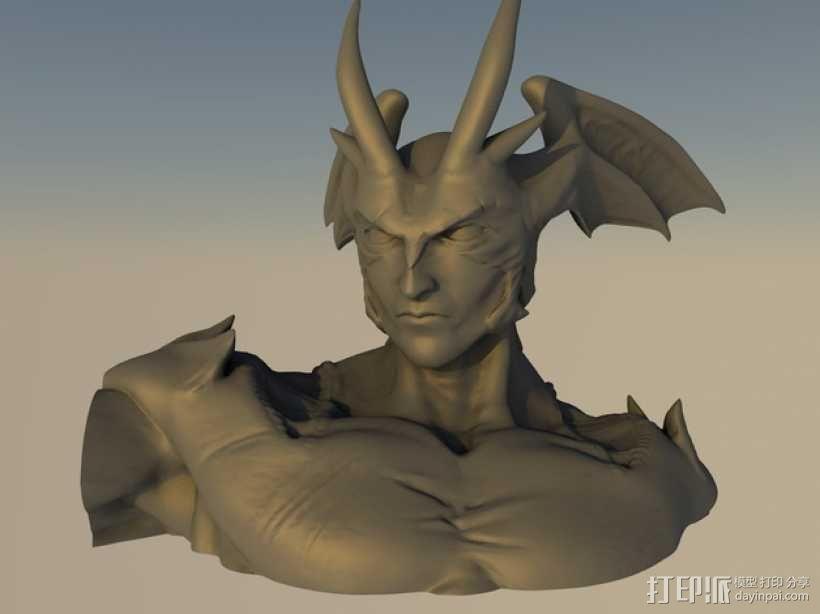 魔鬼人模型 3D模型  图1