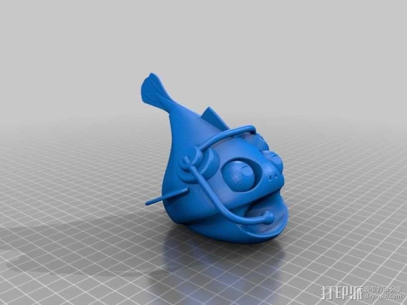 小鱼模型 3D模型  图9