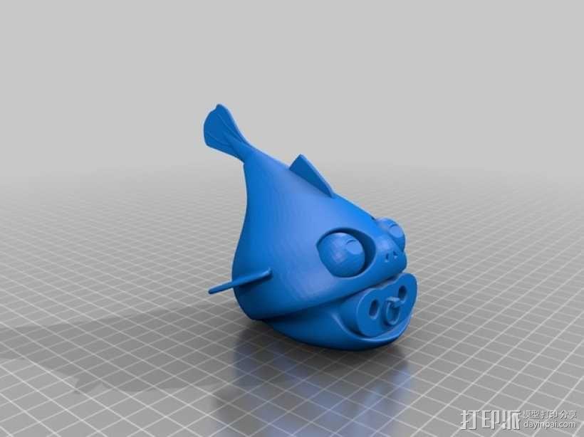 小鱼模型 3D模型  图13