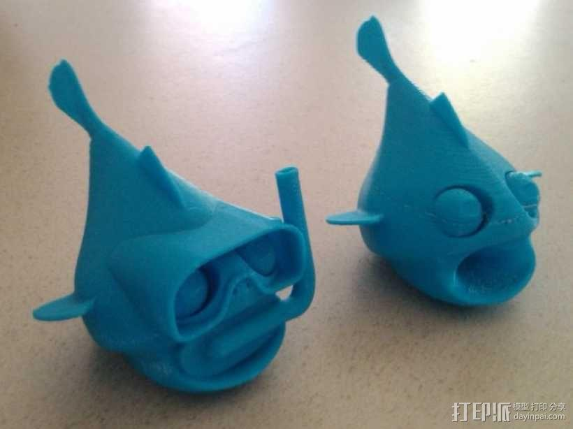 小鱼模型 3D模型  图14