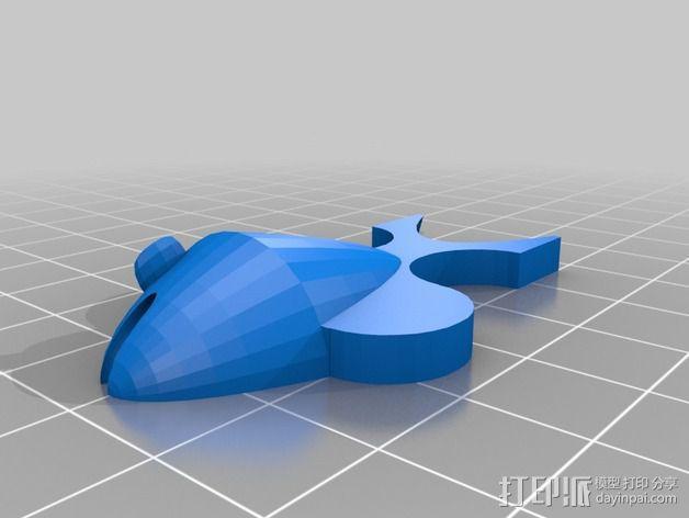 埃舍尔鱼 3D模型  图2