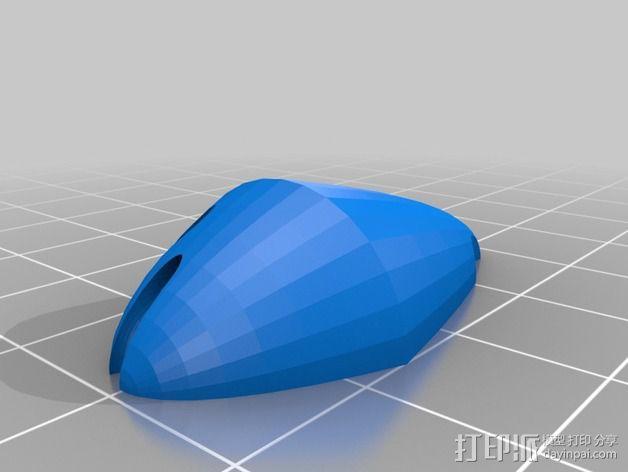 埃舍尔鱼 3D模型  图3