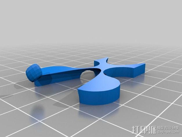 埃舍尔鱼 3D模型  图4