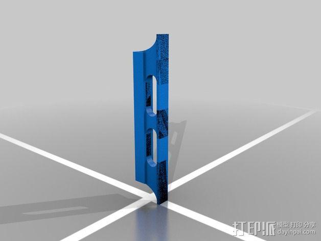 班卓琴调音器 3D模型  图1
