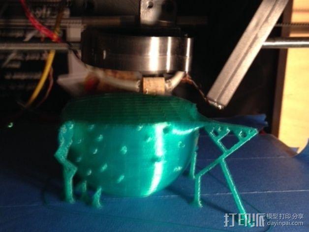 河豚模型 3D模型  图7