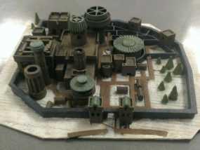 临冬城 建筑模型 3D模型