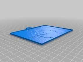 尼古拉斯凯奇浮雕模型 3D模型