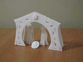 圣诞节:耶稣诞生之日 3D模型