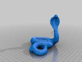 眼镜蛇模型 3D模型