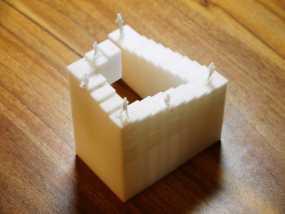 彭罗斯阶梯 3D模型