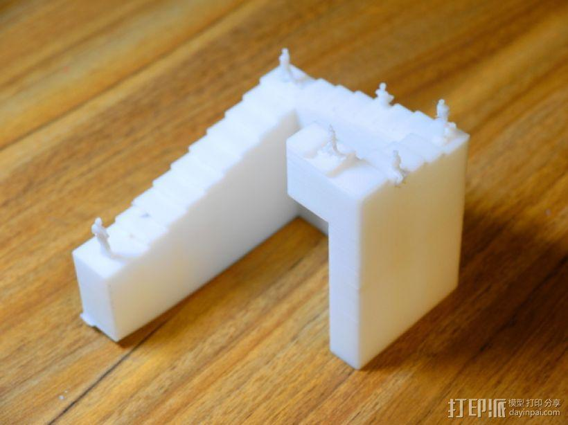 彭罗斯阶梯 3D模型  图3