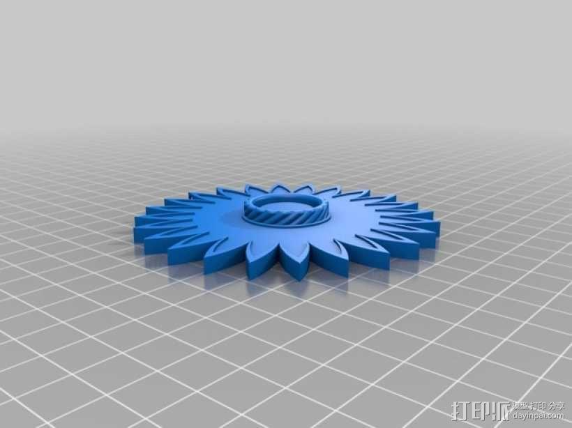 迷你圣诞花 3D模型  图6
