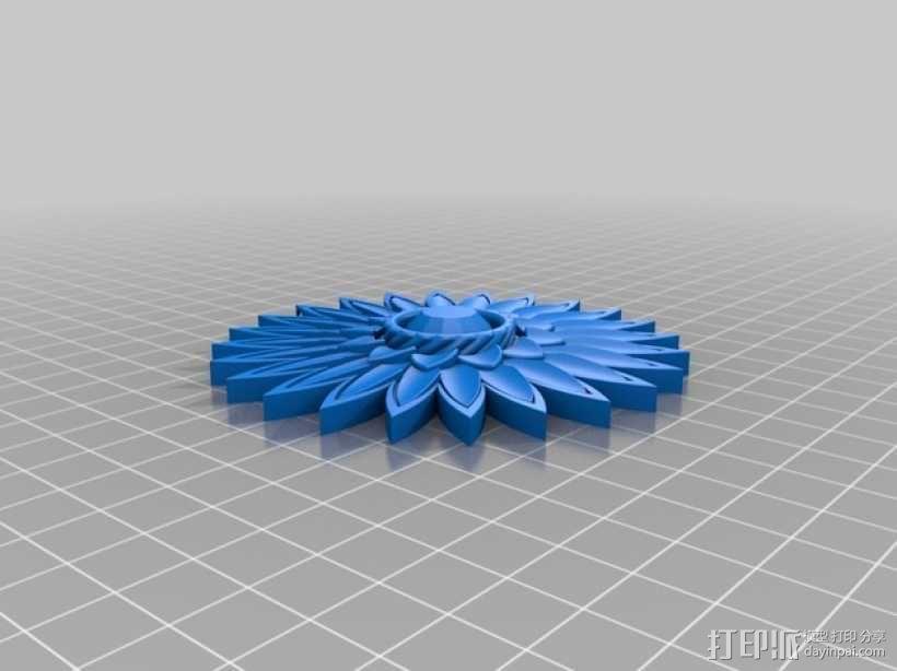 迷你圣诞花 3D模型  图8