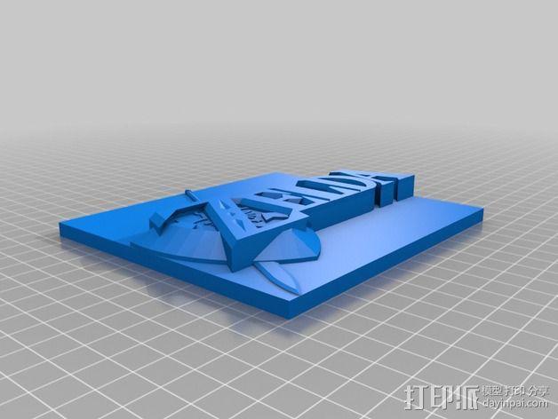 塞尔达传说 3D模型  图3