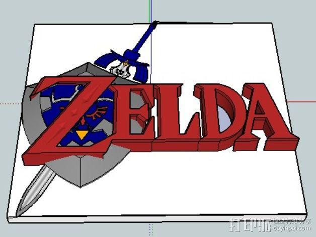 塞尔达传说 3D模型  图2