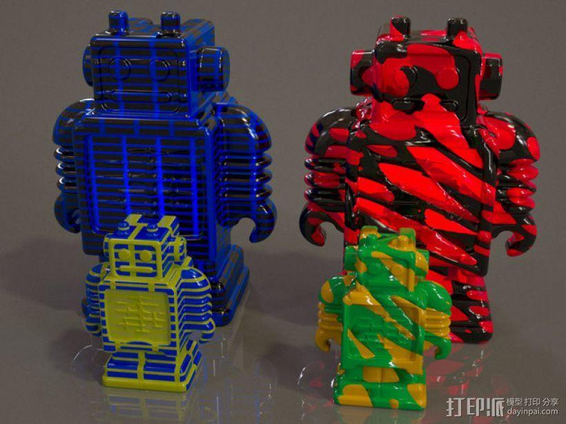 Ultimaker机器人模型 3D模型  图1
