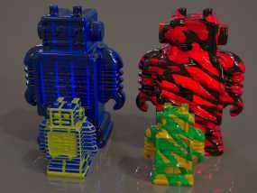 Ultimaker机器人模型 3D模型