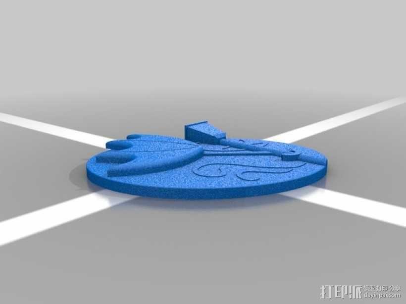 天气符号贴 3D模型  图6