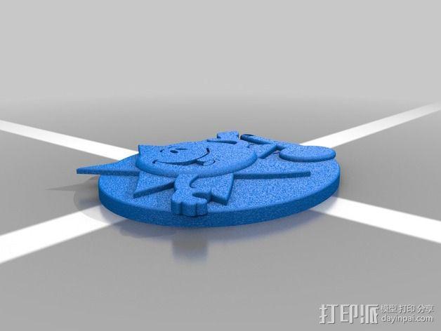 天气符号贴 3D模型  图7