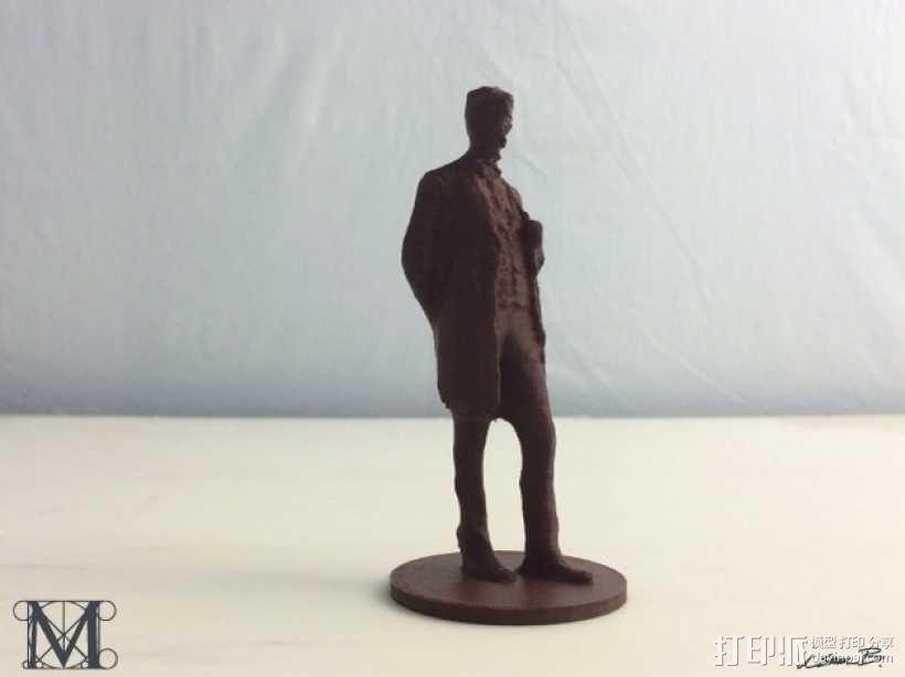亚伯拉罕林肯 3D模型  图1