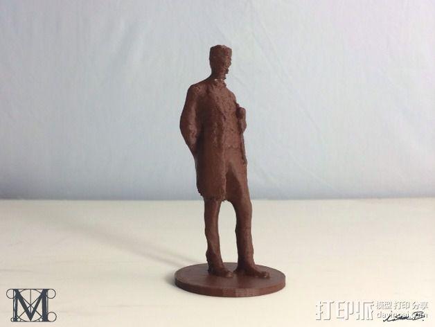 亚伯拉罕林肯 3D模型  图4
