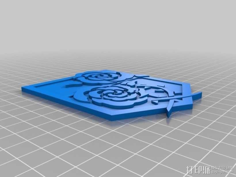 进击的巨人 屯驻地模型 3D模型  图1