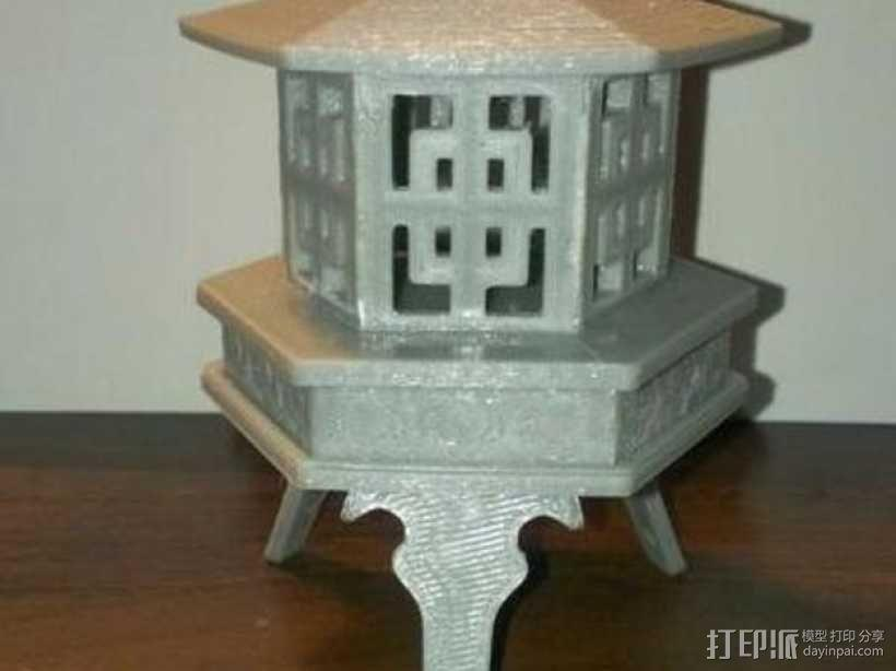 Ishidoro灯 3D模型  图1