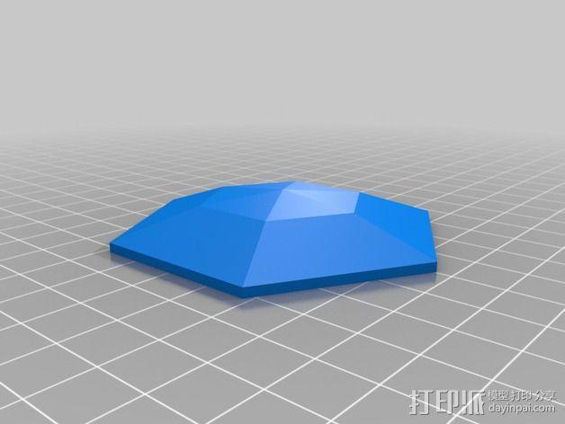Ishidoro灯 3D模型  图3