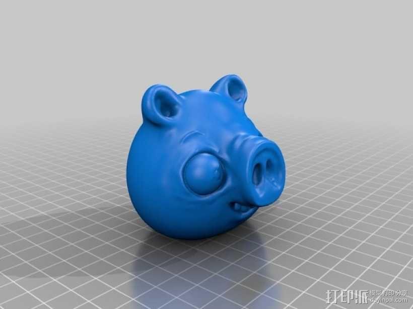 捣蛋猪 模型 3D模型  图1