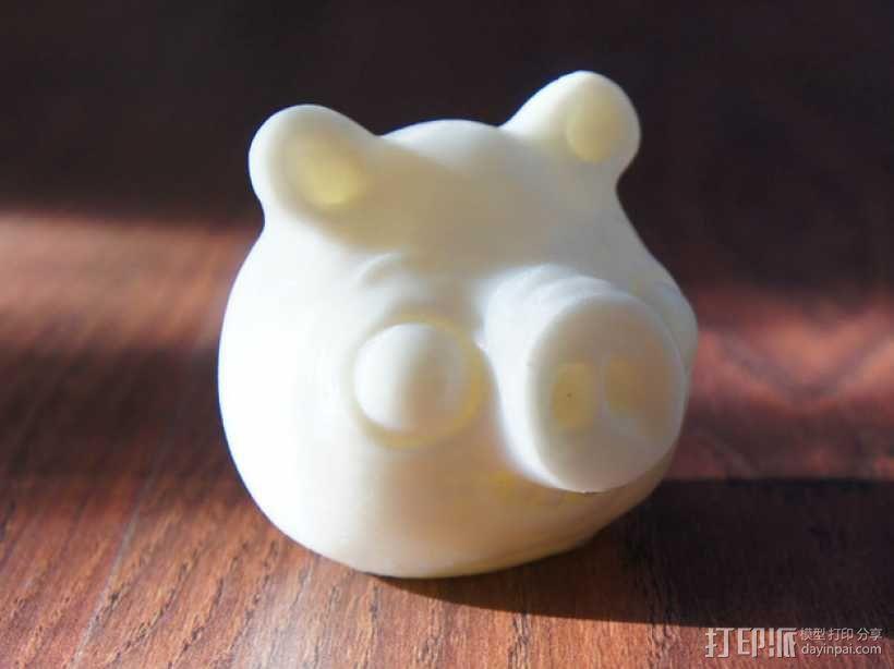 捣蛋猪 模型 3D模型  图2