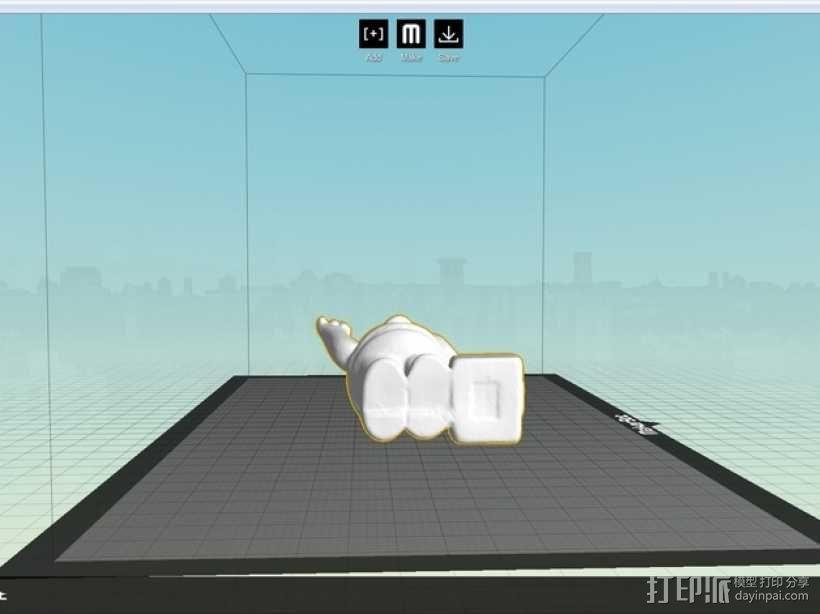 荷马·辛普森 3D模型  图3