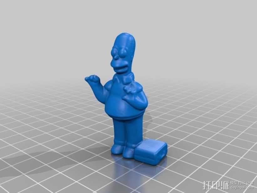 荷马·辛普森 3D模型  图5
