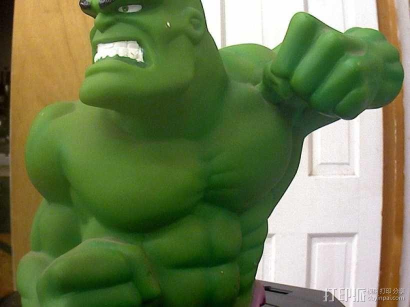 绿巨人浩克模型 3D模型  图1
