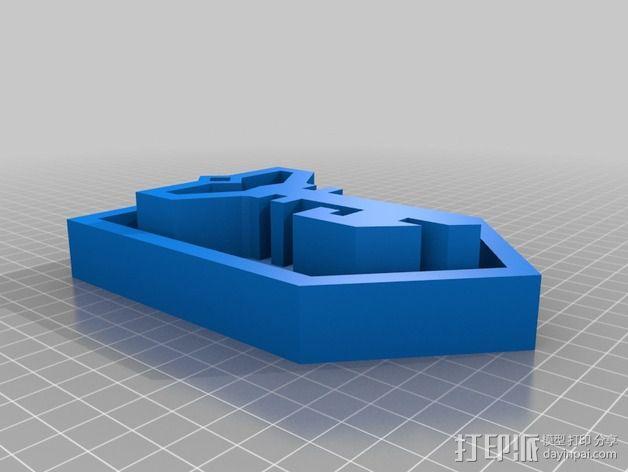 ingress反抗军标志 3D模型  图2