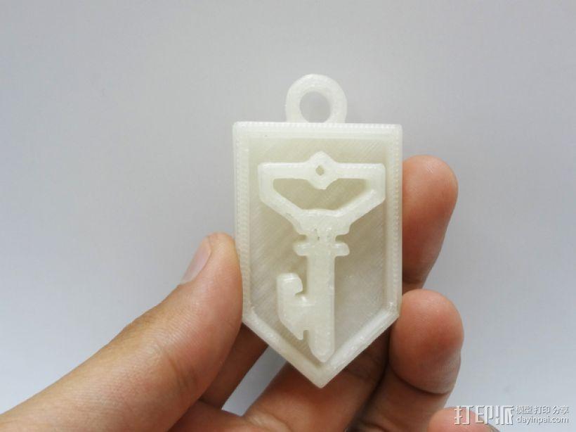 ingress反抗军标志 3D模型  图1